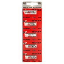 Toshiba A23 Battery 12Volt 23AE 21/23 GP23 23A 23GA MN21 12v 5 PACK