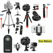 "50"" PRO TRIPOD +12"" FLEX PRO  TRIPOD  FOR NIKON D3000 D3100 D3200 D3300 D5000"