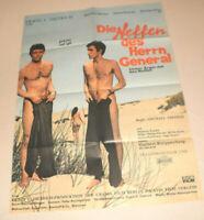 A1 Filmplakat ,DIE NEFFEN DES HERRN GENERAL,MICHAEL MAIEN,C TINNEY,C ,DIETRICH