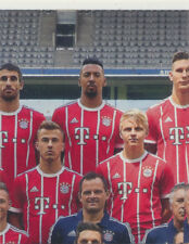BAM1718 - Sticker 3 - Mannschaftsbild - Panini FC Bayern München 2017/18