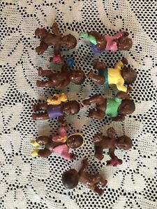 Bully Baby Doll Miniature Anatomically Correct Germany African American Lot Of 9