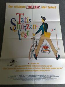 Tatis Schützenfest - Jacques Tati - Original Filmplakat A1