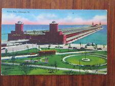 Vintage Postcard -  Chicago, Illinois - Navy Pier