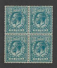 Great Britain Scott 199 Mint Never Hinged Block
