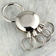 Keychain Waist Pants Belt Key Chain Detachable Keychain 4 Ring Keyring Holder