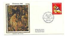 """Canada 973 30c Christmas 1982 Colorano """"Silk"""" cachet Fdc"""