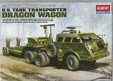 ACADEMY 1:72 U.S. TANK TRANSPORTER DRAGON WAGON 13409