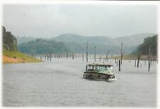 (82128) Postcard India Kerala Thekkady Periyar Lake Boat Ride - un-posted