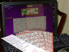 AUTOMATIC BINGO TICKET CLAIM CHECKING DATA FILES FOR THE LEE'S BINGO SOFTWARE
