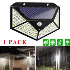 100LED Solar Lights Motion Sensor Security Wall Light Garden Landscape Lighting