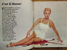 March-1961 Detroit TV Magaz(SHIRLEY BONNE/GARY COOPER/RAYMOND MASSEY/KATHY NOLAN