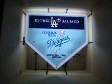 La Dodgers 2018 League Champions Estrella Jalisco Neon Beer Beer Bar Sign Light