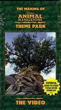 "THE MAKING OF...""DISNEY'S ANIMAL KINGDOM THEME PARK""......NEW SOUVENIR VHS VIDEO"