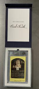 "Babe Ruth Signed ""1941"" Cut Handwriting Signature Sample BGS AUTO Rare"