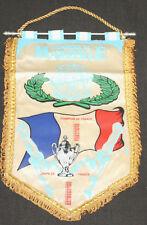 FANION PENNANT WIMPEL OM MARSEILLE PALMARES CHAMPIONNAT COUPE DE FRANCE 1929-91