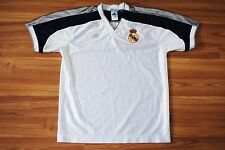REAL MADRID VINTAGE 2000 TRAINING SHIRT JERSEY ADIDAS EQUIPMENT SIZE S SMALL