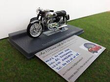 MOTO NORTON DOMINATOR 88 1956 gris au 1/24 de IXO MUSEUM miniature de collection
