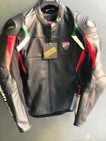 Ducati Corse Dainese giubbino in pelle C3 NERO in offerta