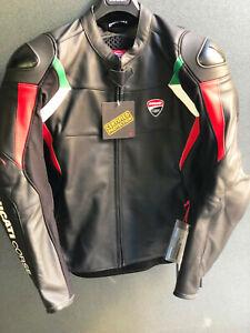 Ducati Corse Dainese giubbino in pelle C3 NERO in offerta 9810407_ Listino 669