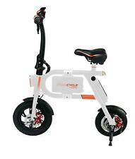Swagtron SwagCycle Classic E-Bike Folding Electric Bicycle with 10 Mile Range WH