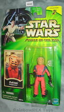 Star Wars 2001 ZUTTON SNAGGLETOOTH POTJ MOC Figure #2