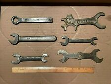 Vintage Lot of 6 Assorted Miscellaneous Wrenches.  See Description below.