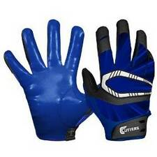 Cutters Gloves REV Pro Receiver Football Gloves (Pair), Blue Adult: Extra Large