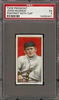 1909-11 T206 HOF John McGraw Portrait W/Cap Piedmont 350-460 New York PSA 5 EX