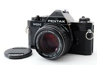 [Excellent] Pentax MX Black 35mm SLR Film Camera w/ 50mm f/1.4 from Japan #P2078