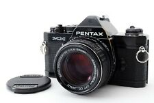 [Excellent] Pentax MX Black 35mm SLR Film Camera w/ 50mm f/1.4 from Japan #P2078