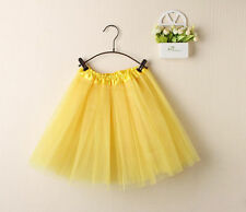Ladies Girls Women Adult Tutu Skirts Mini Ballet Princess Fancy Dress Party