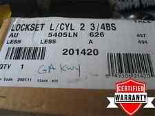 NIB!!!! YALE GA KEYWAY AU5405LN x 626 Lockset, Lever, Chrome