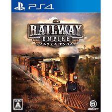 Ubisoft Railway Empire SONY PS4 PLAYSTATION 4 JAPANESE VERSION