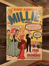 THE BLONDE BOMBSHELL - MILLIE the MODEL COMIC No.106 SILVER AGE JAN 1962 10c