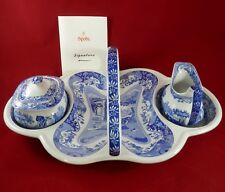 PV01882 Spode Signature BLUE ITALIAN Strawberry Set 2006 3 pcs- #238 with papers