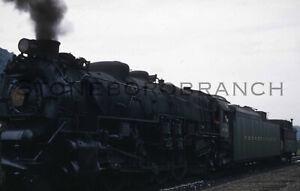 Original RBK slide: PRR STEAM M-1 #6779 w/ Work Train; Middle Division, 1957