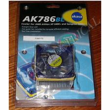 Akasa CPU Cooling Fan for AMD Duron, Thunderbird, Athlon - Part # AK786BL