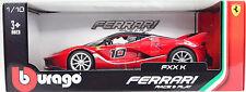 Ferrari FXX K rouge échelle 1:18 de BBURAGO