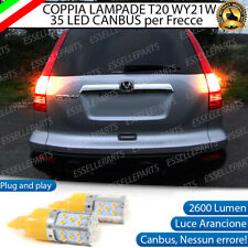 COPPIA LAMPADE WY21W CANBUS 35 LED FRECCE POSTERIORI HONDA CR-V MK3 NO ERROR