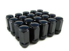 24 of 12x1.5 Black Wheel Nuts (Normal Acorn) Toyota Hilux Hiace BT50 Ford 4x4