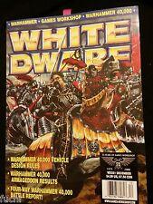 White Dwarf #251 Warhammer 40k Vehicle Design, Fantasy Dogs of War Mercenaries
