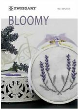 Zweigart pattern book 104 / 302 Bloomy  - cross stitch 32 pages