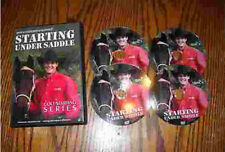 CLINTON ANDERSON COLT STARTING Horse training riding 4 DVDS