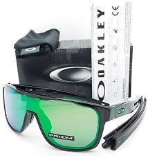 NEW Oakley Crossrange Shield sunglasses Black Prizm Jade Iridium 9387-0331 green