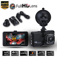 "3"" 170 °Full HD Camera Video Registrator Car Blackbox DVR Recorder Dash Cam G-s"