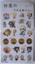 FATE / Grand Order Anime / Manga Sticker Set