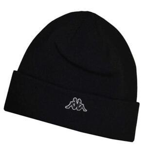 Kappa Beanie Brissago Mütze schwarz