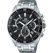 Casio Edifice Premium Efr-552d-1avuef Watch Silver Chronograph Mens