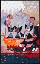 Fußmatte Salonlöwe Rosina Wachtmeister Mia Famiglia 120 x75 cm 1106-075x120