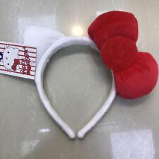 Cute Red Hello Kitty Bow Ear Headband Hairband Party Costume Cosplay Girl's Gift